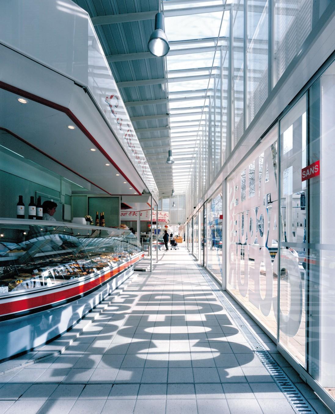 Traverses - intérieur des halles - crédits photo : Didier Boy de la Tour