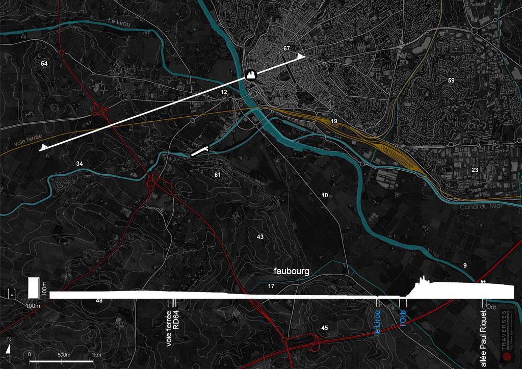 Traverses - diagnostic - topographie du site