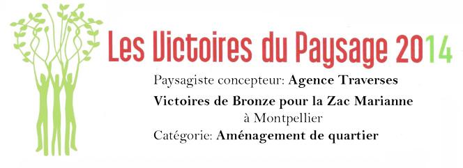 Traverses - projet récompensé aux Victoires du Paysage 2014