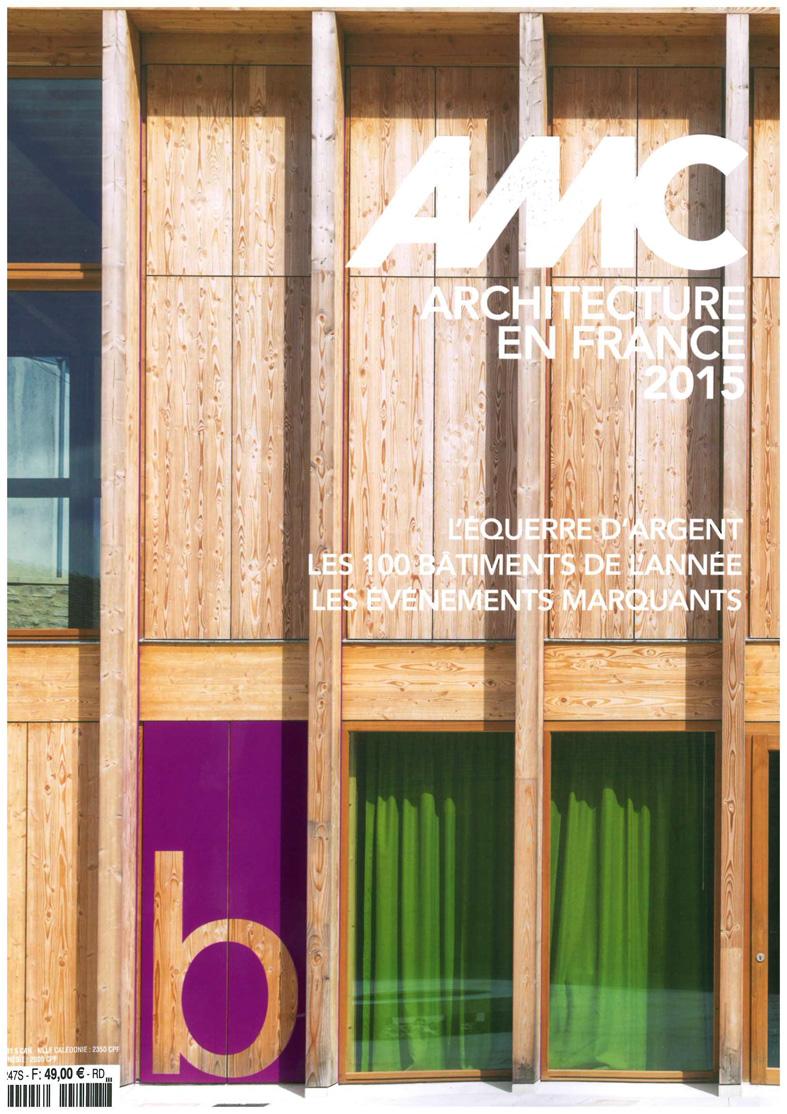 Traverses - projet HOCHE nominé pour le prix d'architecture de l'Equerre d'argent 2015