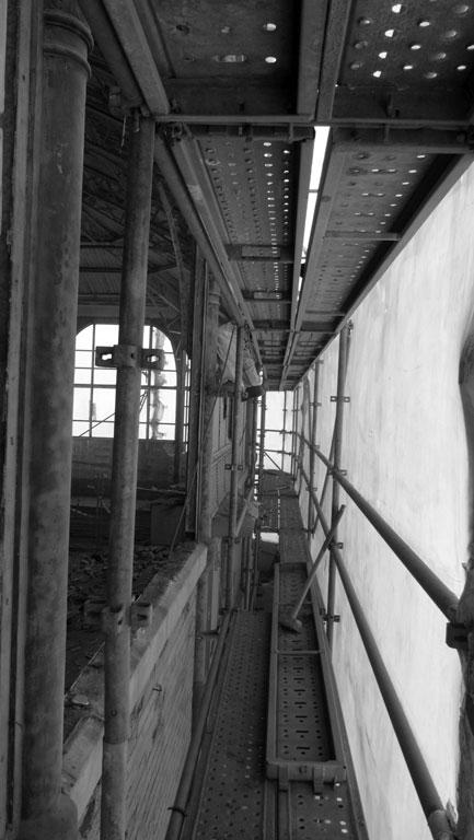Traverses - 2016-03-17 dépose façades Halles 2