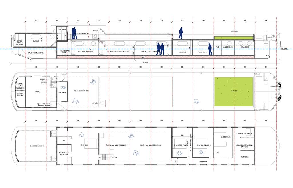 transformation d une p niche en habitation 2015 traverses paysage urbanisme architecture. Black Bedroom Furniture Sets. Home Design Ideas