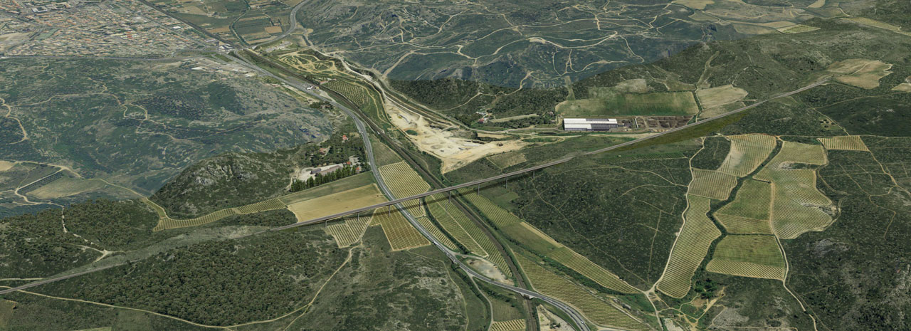 Traverses - illustration de principe au passage d'une vallée