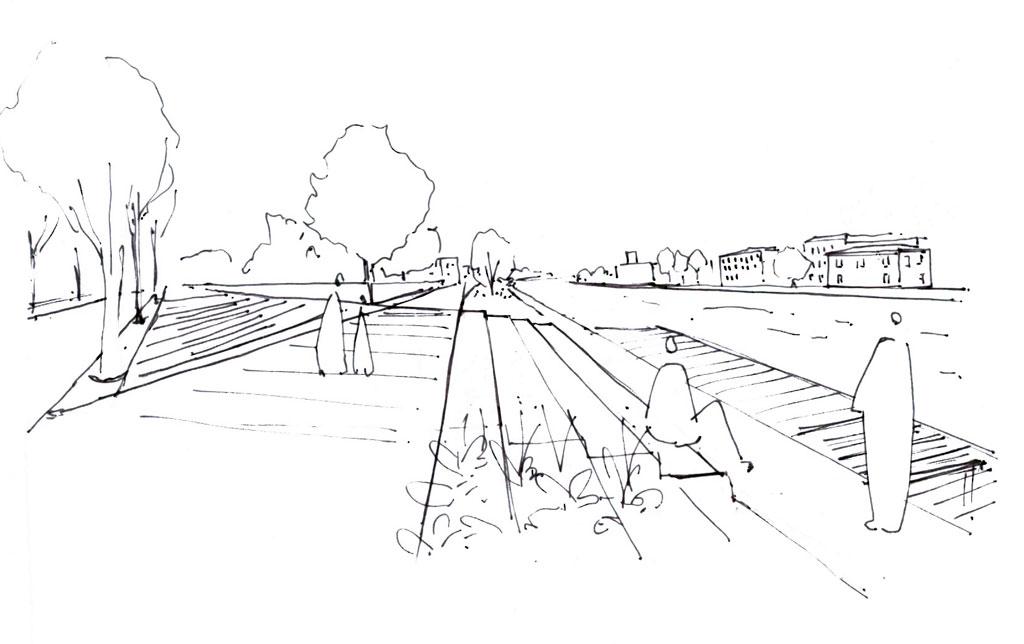 Traverses - illustration des propositions : les quais / 2