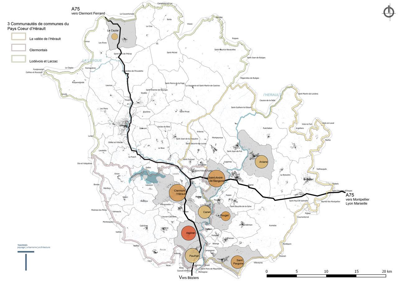 Traverses - cartographie du territoire