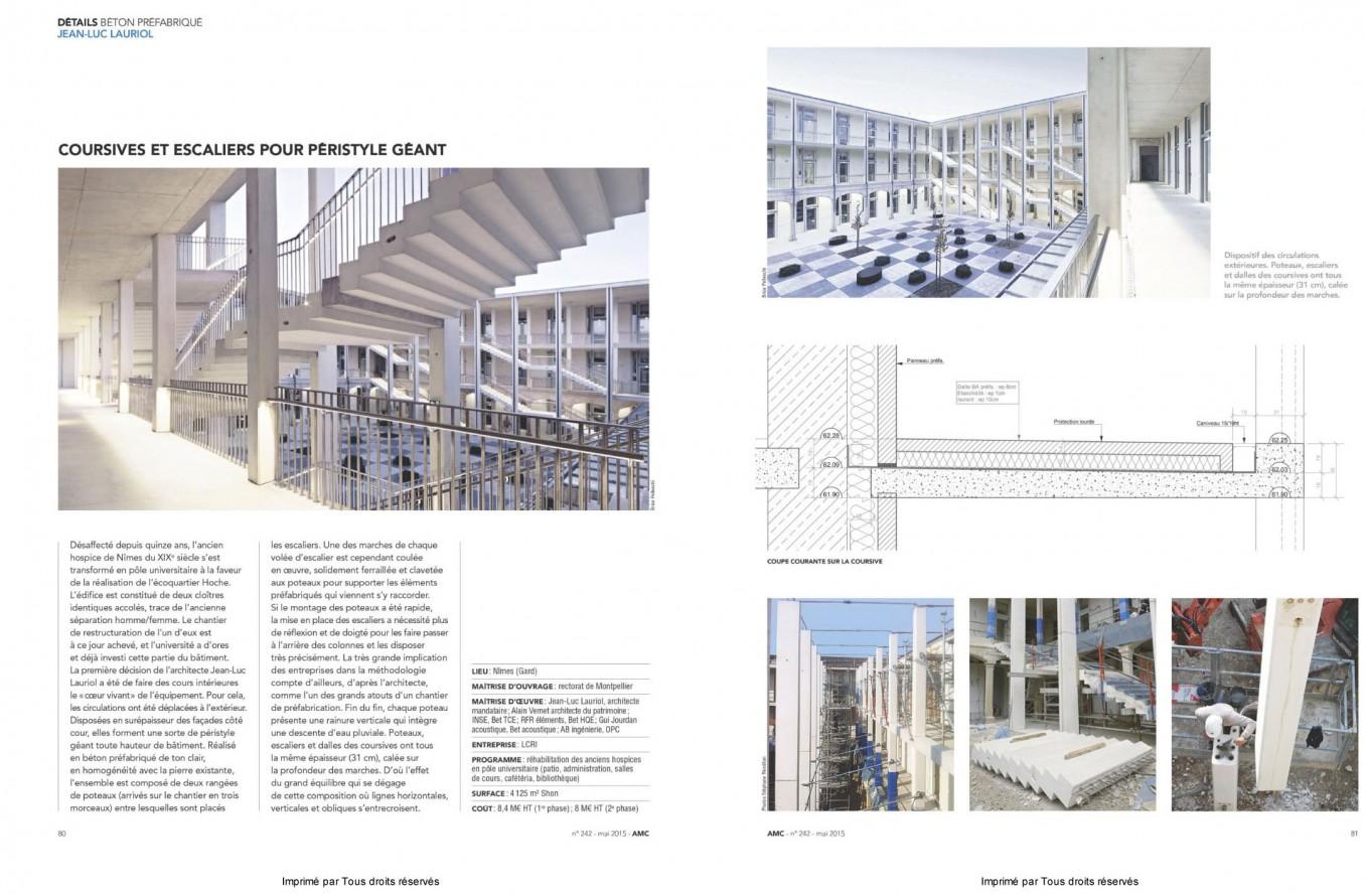 Traverses - 2015-05 publication AMC- Projet Hoche