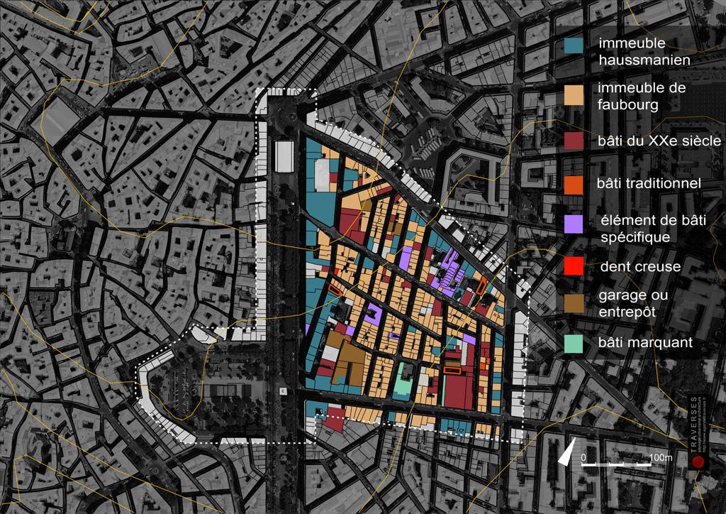 Traverses - carte-2500-bâti-synthèse