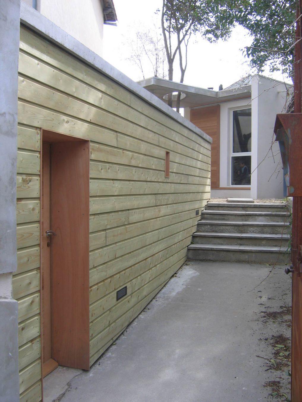Traverses - séquence entrée principale avec garage