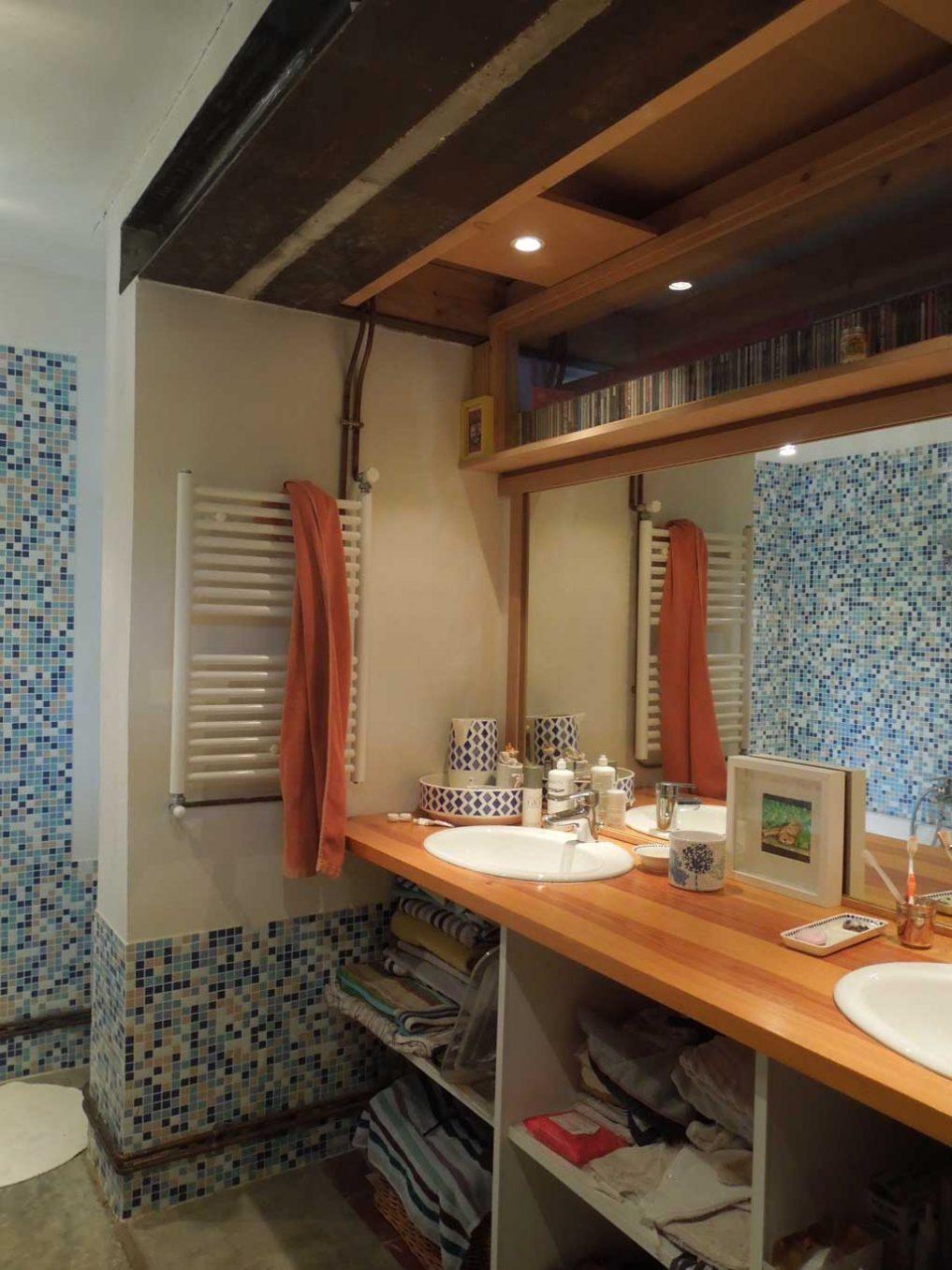 Traverses - salle de bains enfants