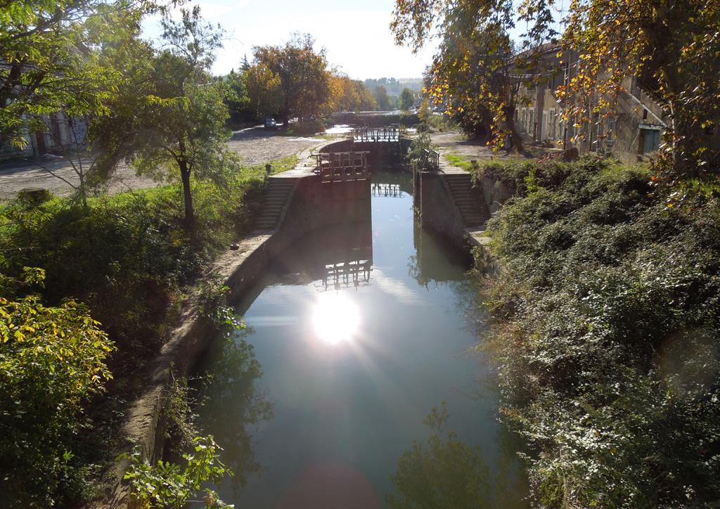 Traverses - écluse historique du canal du Midi