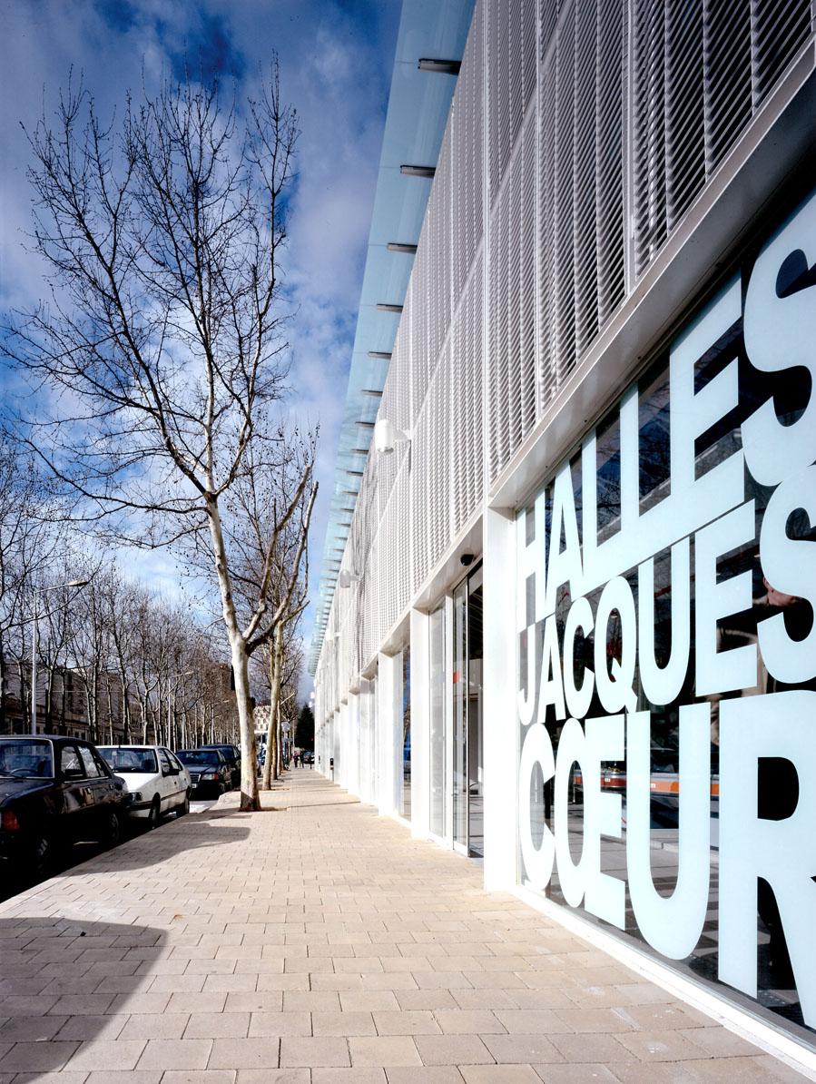 Traverses - entrée côté Bd d'Antigone - crédit photo : Didier Boy de la Tour