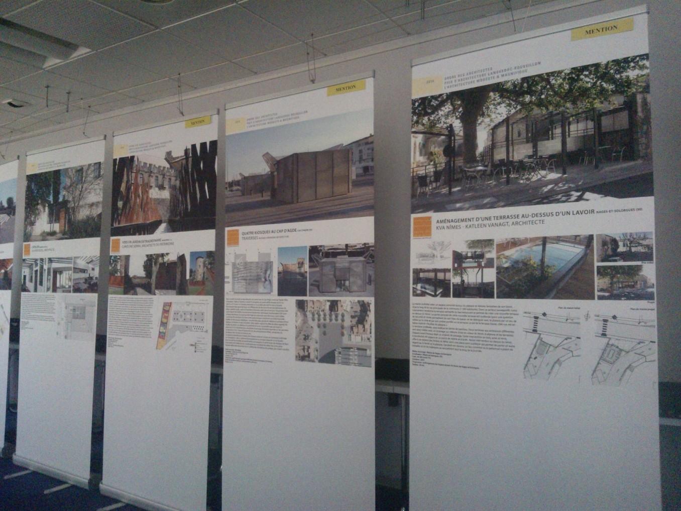 Traverses - exposition au CROA LR 2014