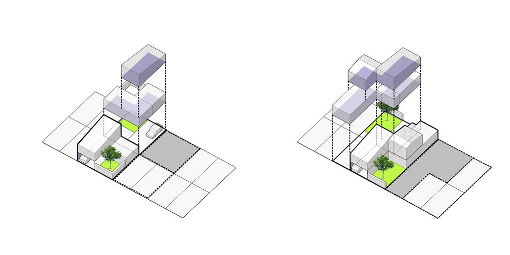 Traverses - étude de cas d'intervention sur du bâti, préservant la typologie parcellaire et urbaine