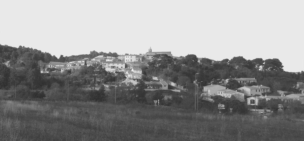 Traverses - vue sur le village