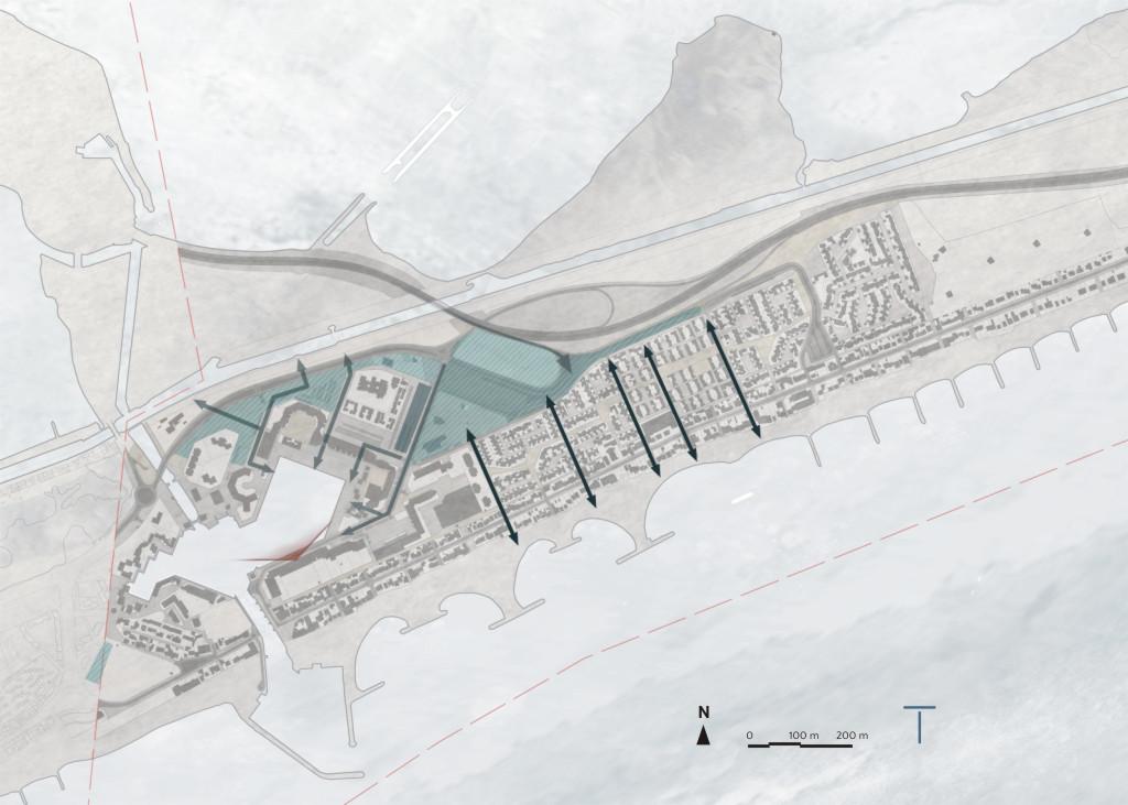 Traverses - aménager des cheminements entre les stationnements et la plage