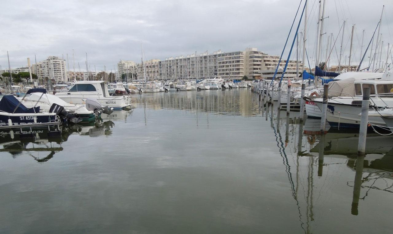 Traverses - le port de Carnon