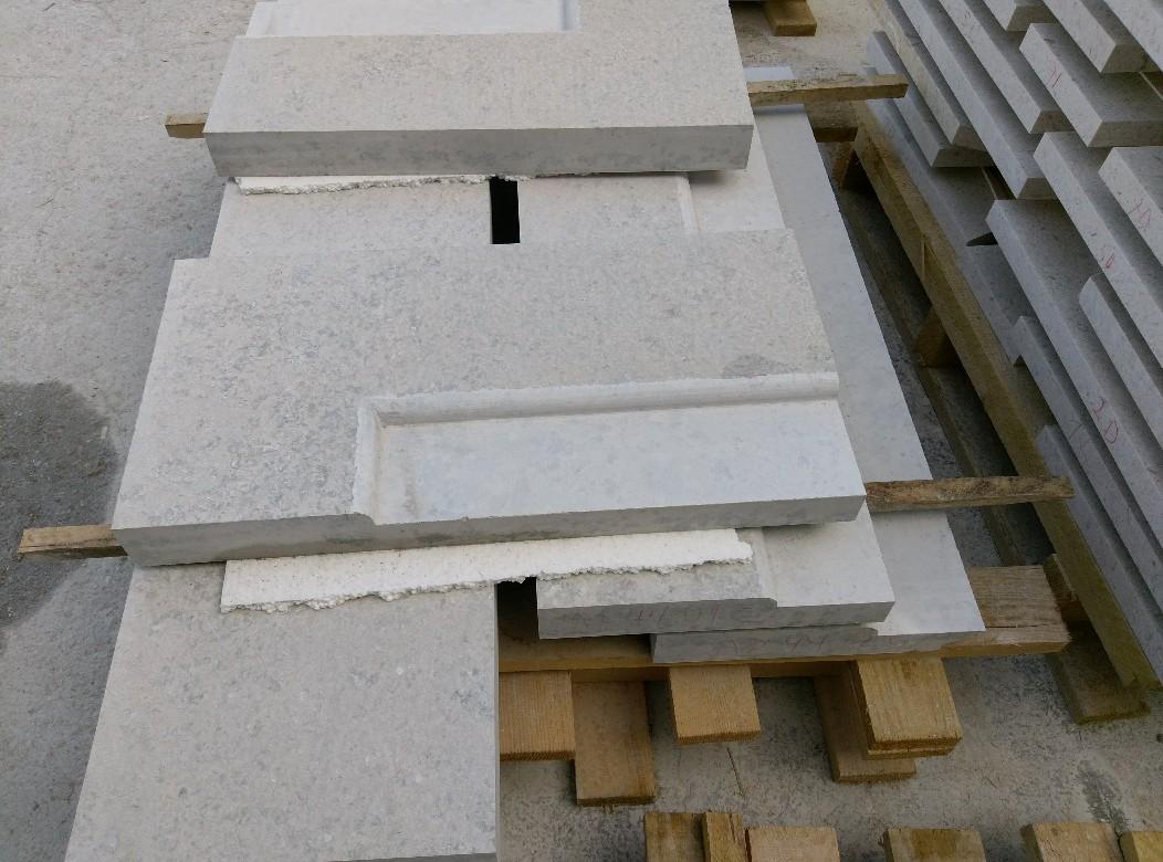 Traverses - détail de fabrication des pierres