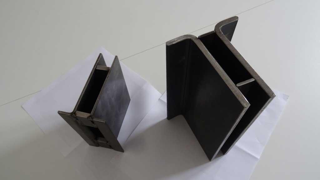 Traverses - prototypes de poteaux des sas
