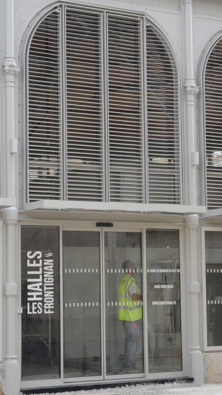 Traverses - éléments de façades - brise soleil et marquise