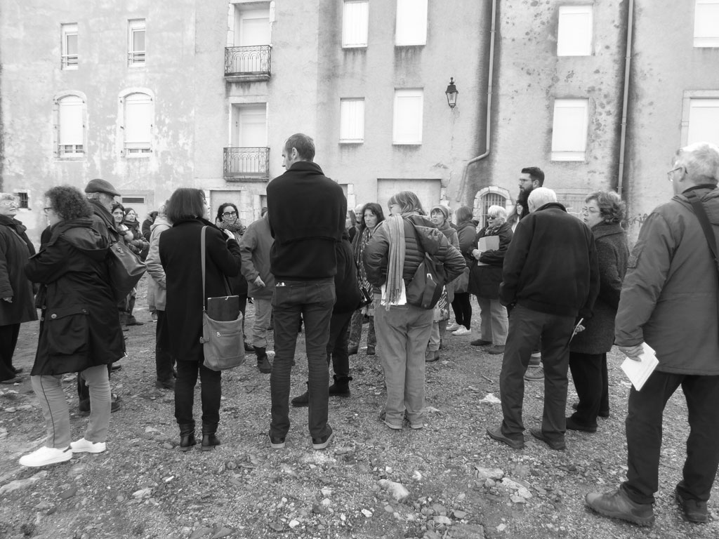 Traverses - concertation avec les habitants : balade urbaine