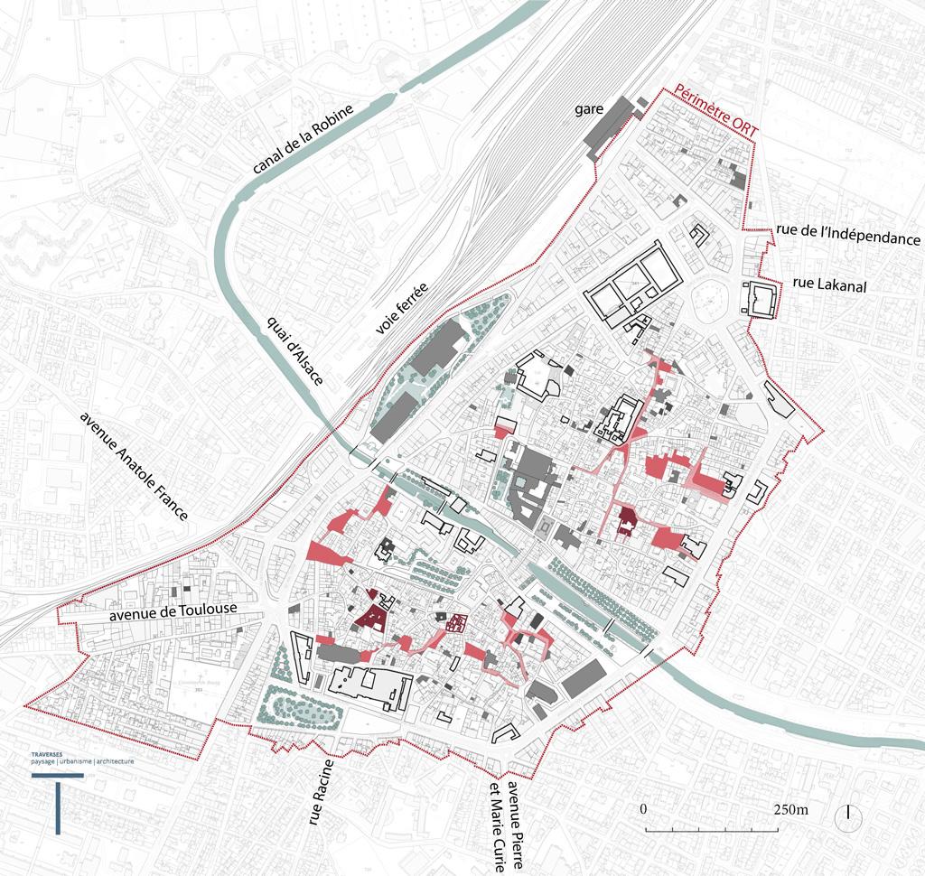 Traverses - Objectif 1 - une attractivité retrouvée autour du confort et de la qualité de vie en centre ancien