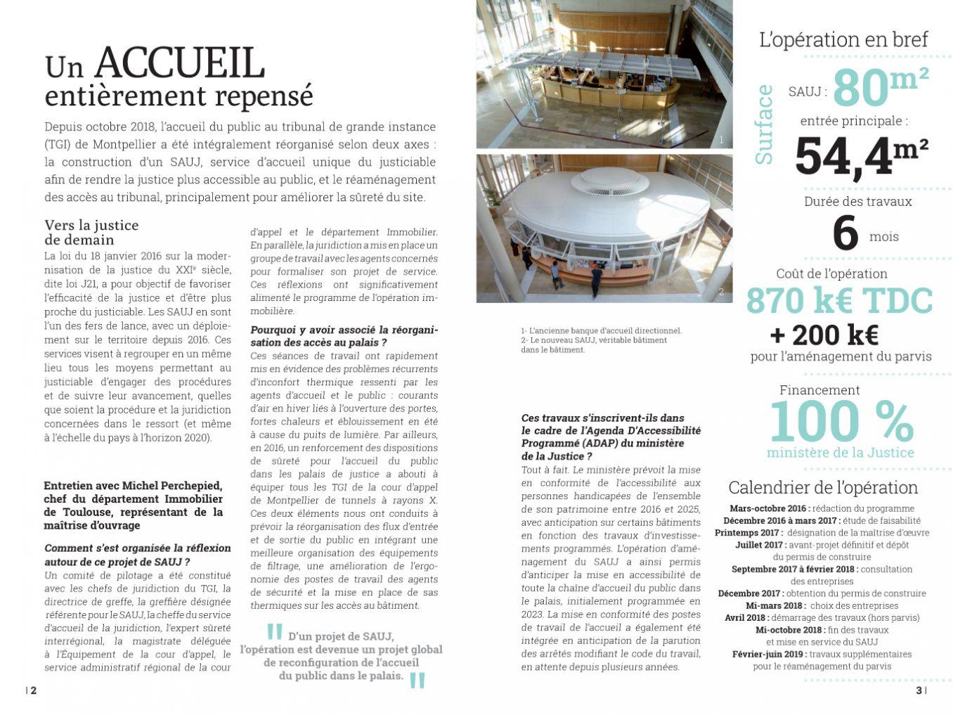 Traverses - plaquette SAUJ du tribunal Montpellier - pages 2-3