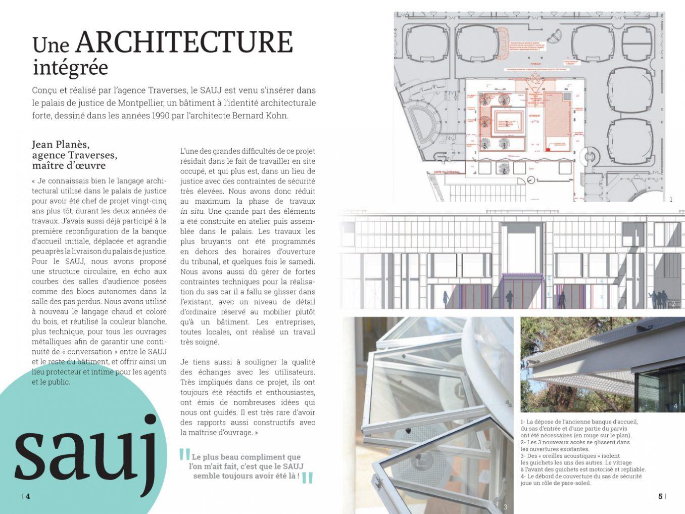 Traverses - plaquette SAUJ du tribunal Montpellier - pages 4-5
