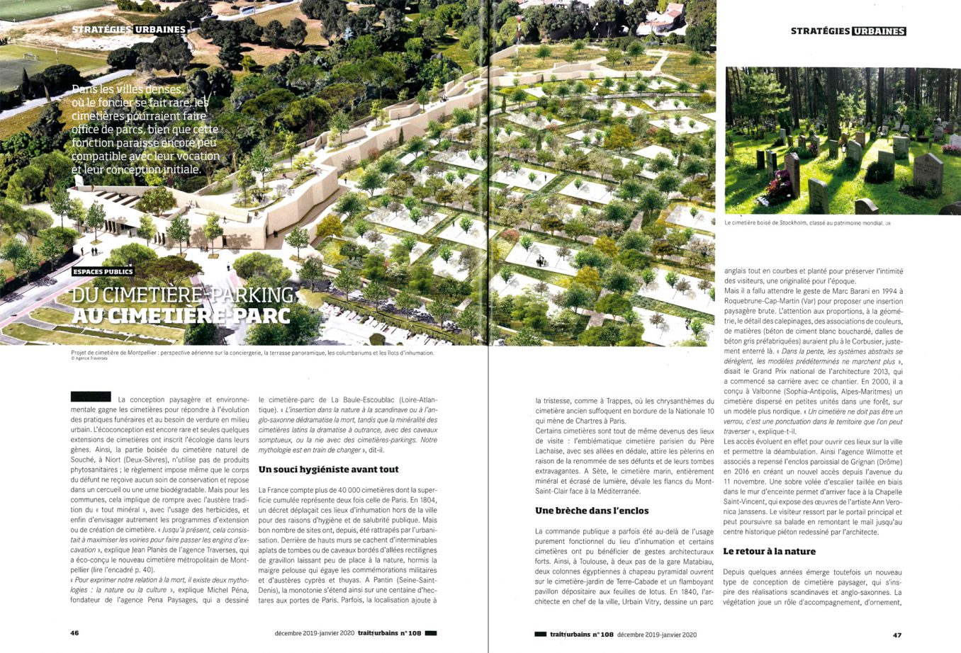 Traverses - Traits Urbains - Janvier 2020 - pages 46-47