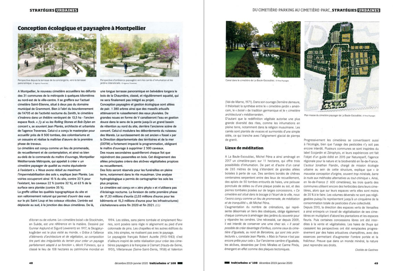 Traverses - Traits Urbains - Janvier 2020 - pages 48-49