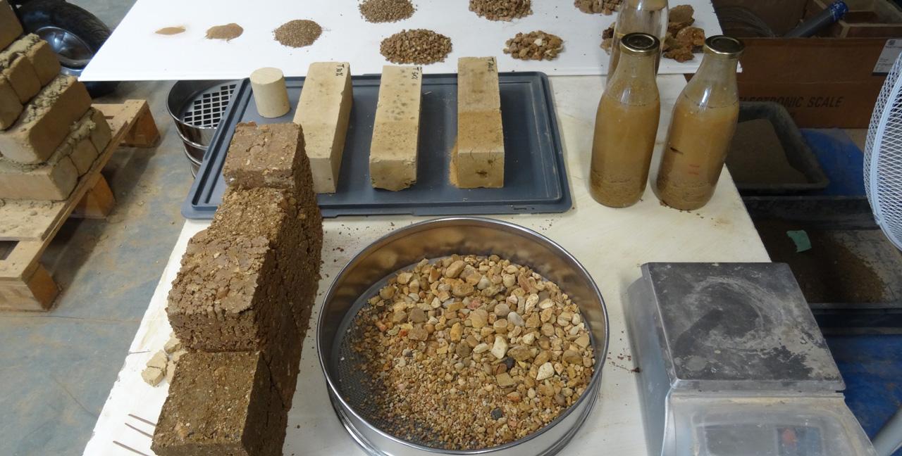 Traverses - Grammont - recherche terre avec Ecozimut