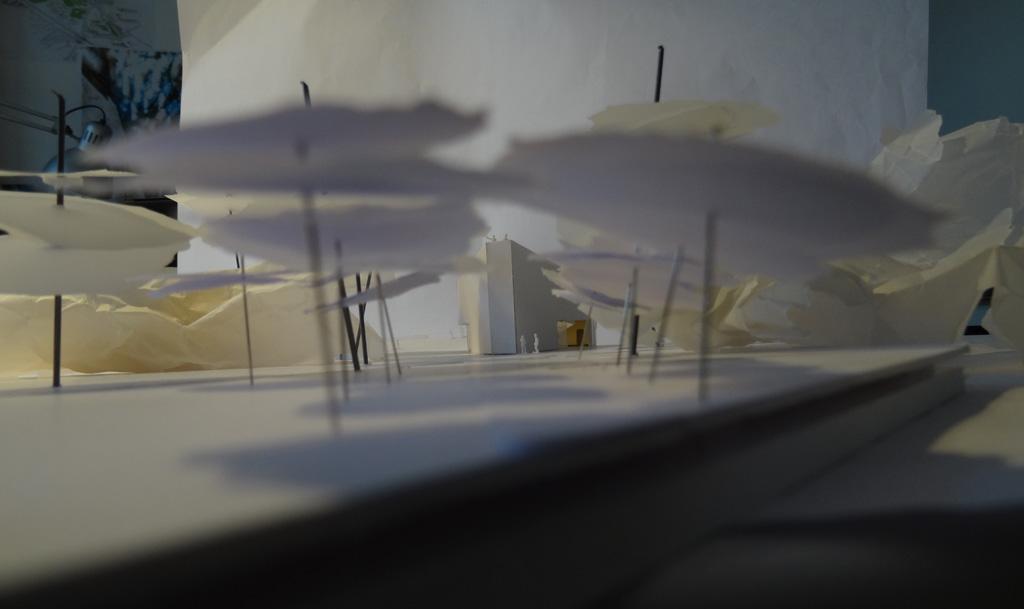 Traverses - Grammont - maquette de la conciergerie