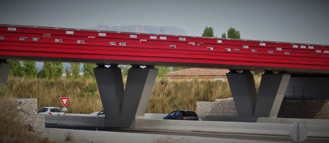 Traverses - ouvrage d'art RD9 - Aix-en-Provence