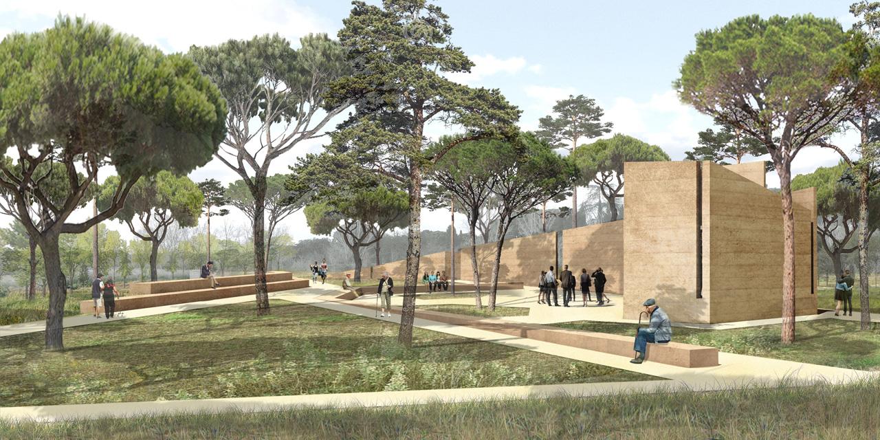 Traverses - Grammont - amphithéâtre de la mémoire et lieu de recueillement