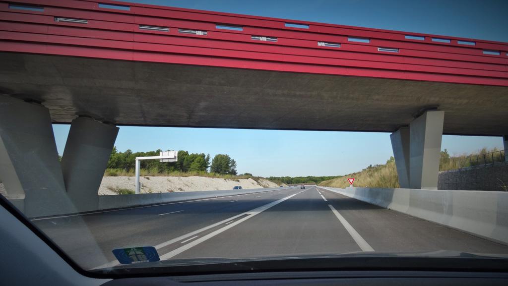 Traverses - ouvrage d'art - RD9 - Aix-en-Provence