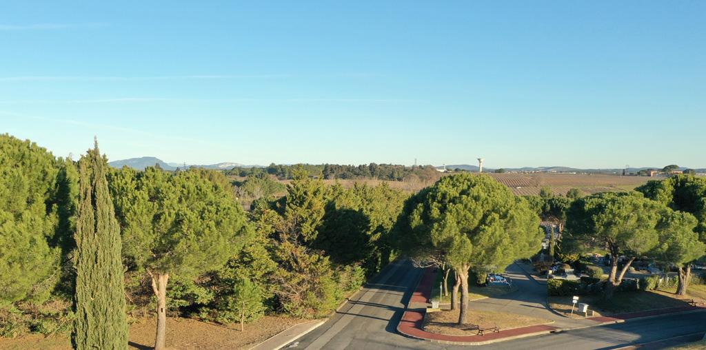 Traverses - Grammont - vue depuis le toit de la conciergerie