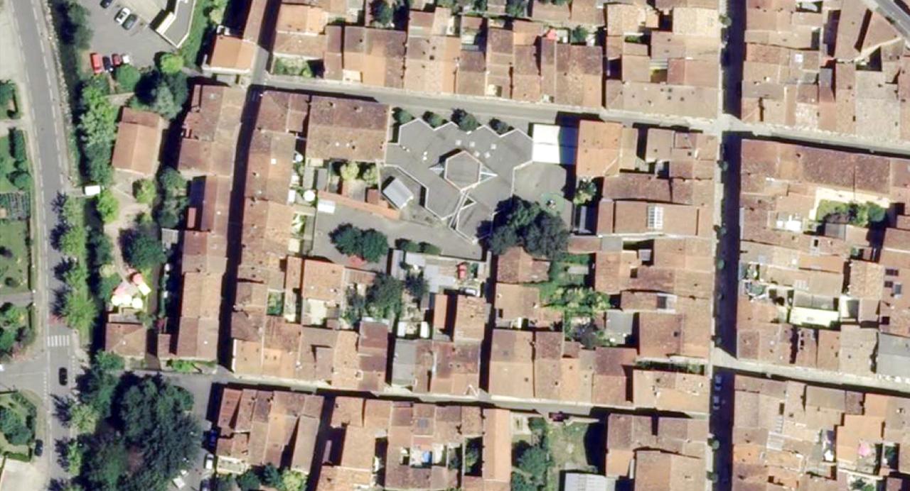 Traverses - vue aérienne - Sainte Claire